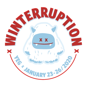 WinterruptionYEG 2020 circle logo