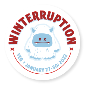 Winterruption YEG 2022 logo